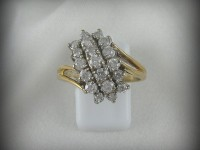 10kt Gold Ring with 1ctw Diamond