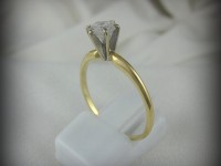 14kt Gold Ring with .50ct Diamond