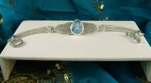 Blue Topaz Bracelet BA8376