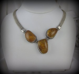Amber Necklace BA8584